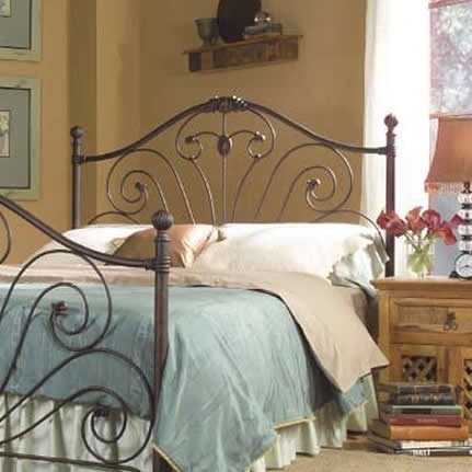 Vanessa Headboard With Aged Bronze Finish By Kimberly
